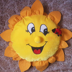 Other - Sun Shaped Decorative Pillow